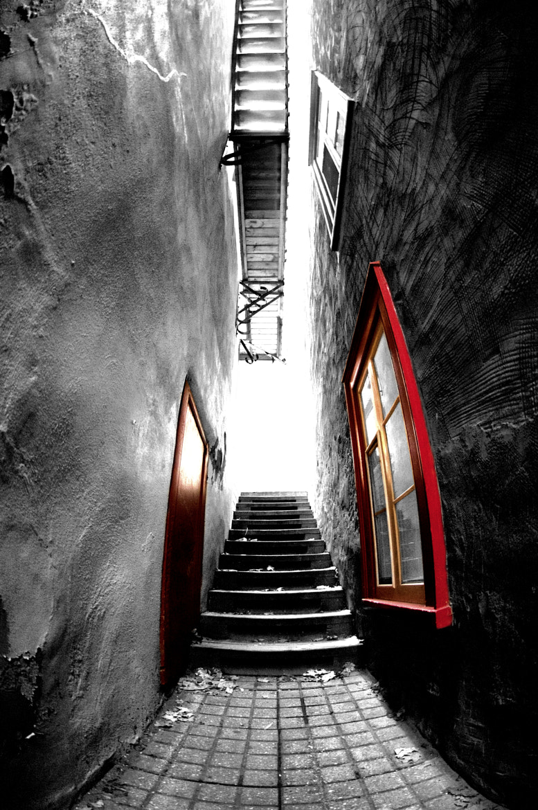 Photograph stairs by Dérick Tremblay on 500px