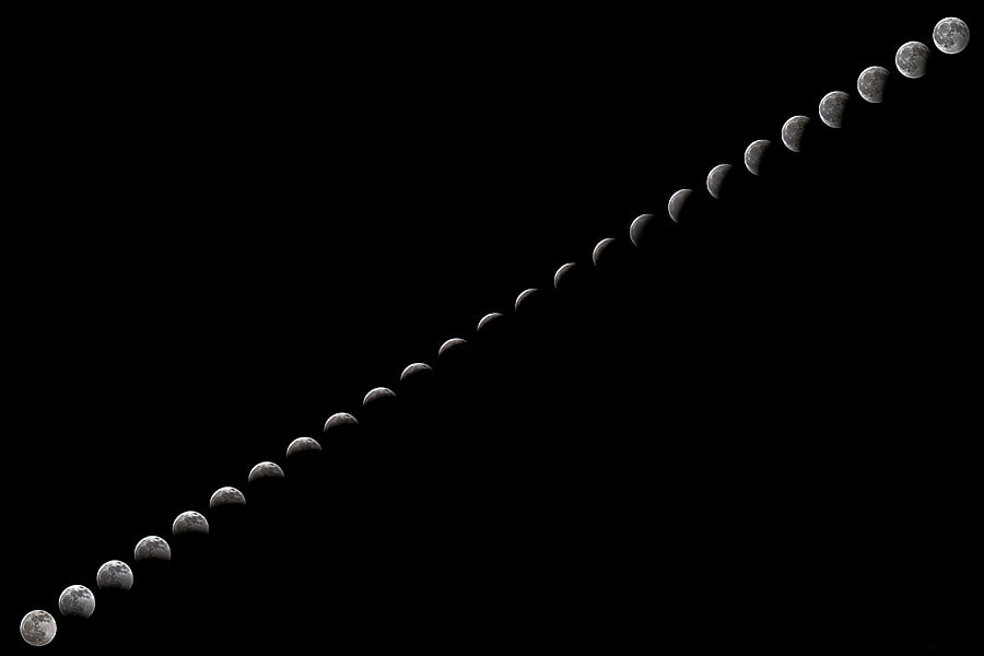 Photograph Partial Lunar Eclipse by Massimiliano Maura on 500px
