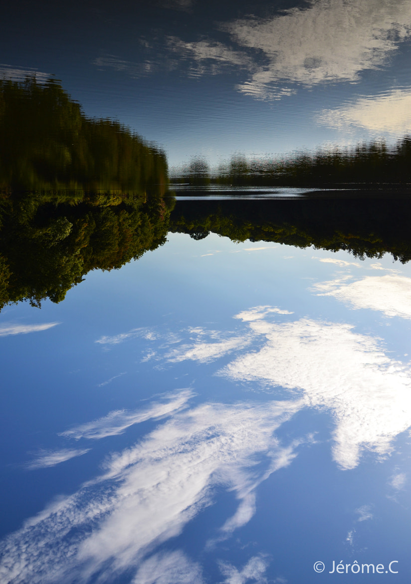 Photograph Sky or Lake ? by Jerome jc on 500px