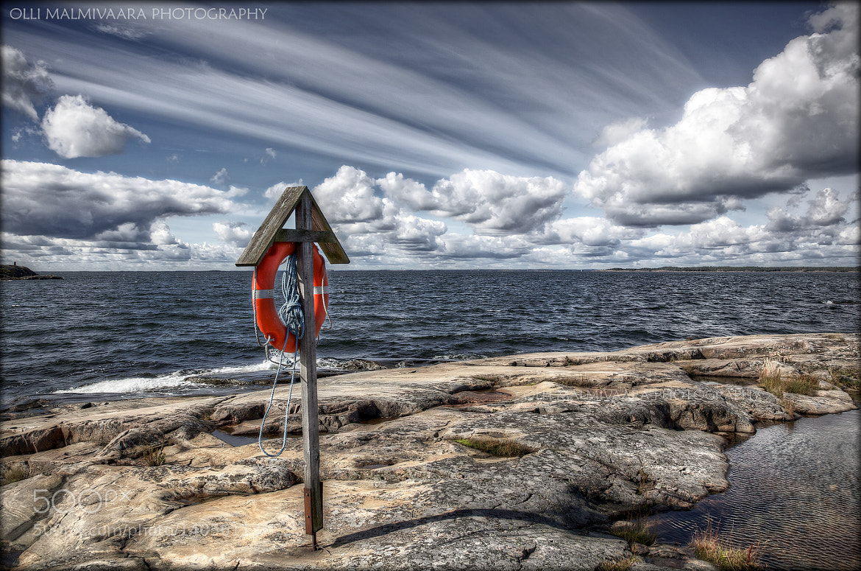 Photograph Life buoy by Olli Malmivaara on 500px