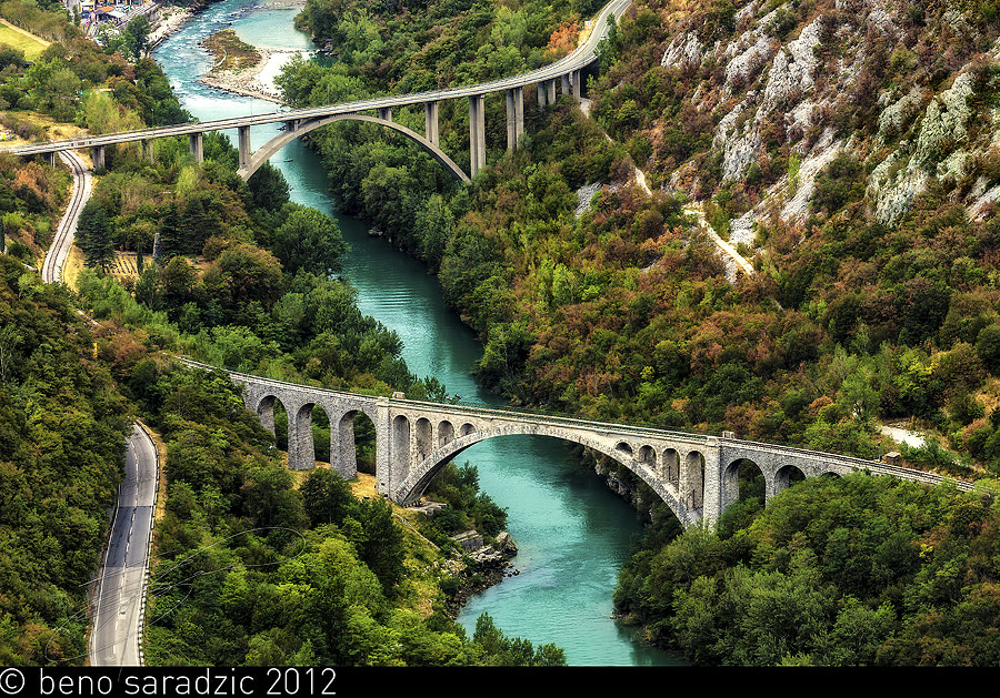 Solkan Bridge by Beno Saradzic on 500px