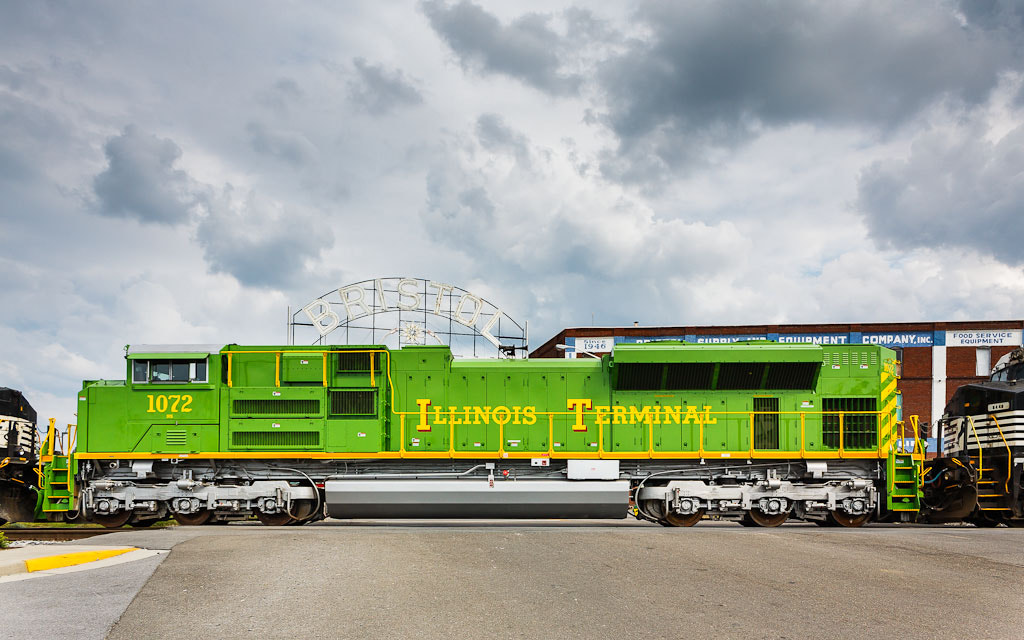 Photograph NS 1072 Illinois Terminal Heritage by Greg Booher on 500px