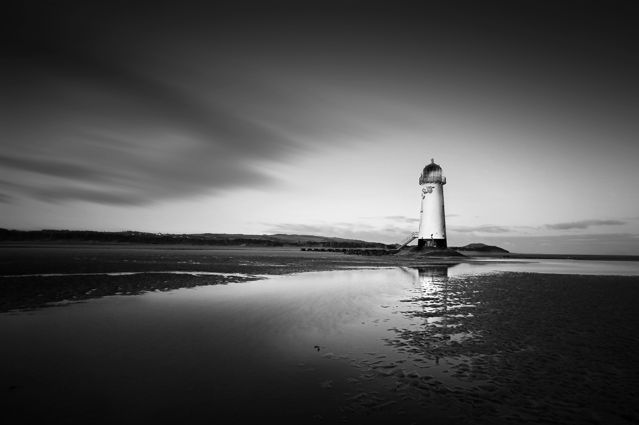 Photograph Point of ayr light house by Charlie Pragnell on 500px