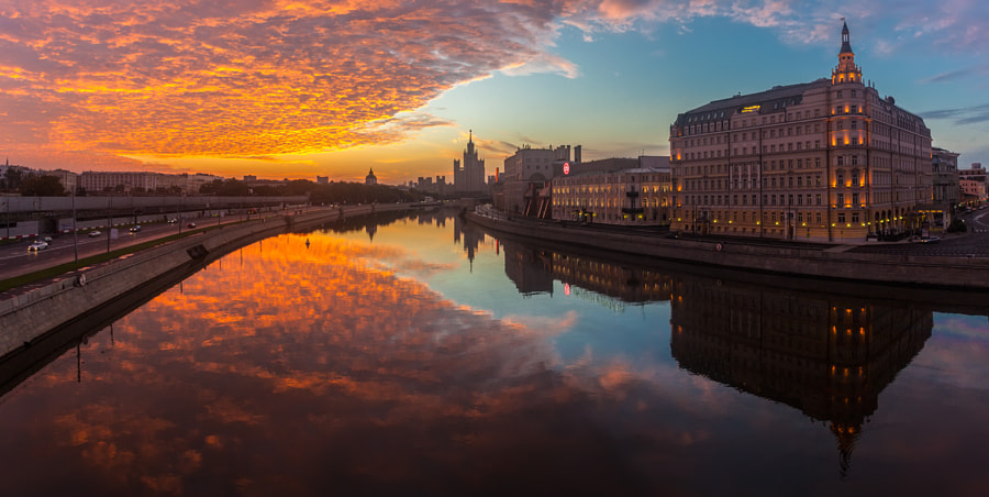Moscow morning by Sergey Shaposhnikov on 500px.com