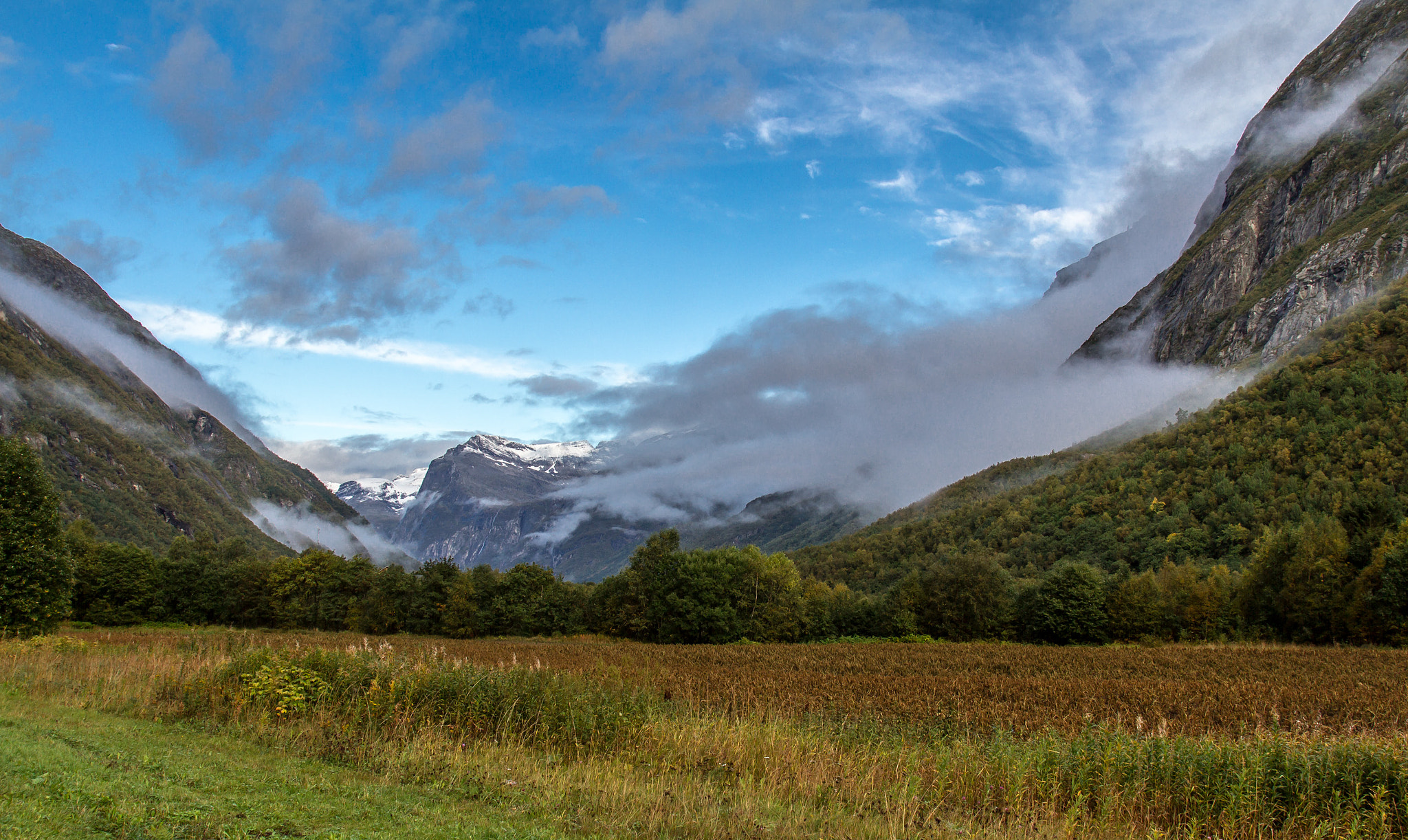 Photograph Morning in the mountains by Jens-Chr. Strandos on 500px