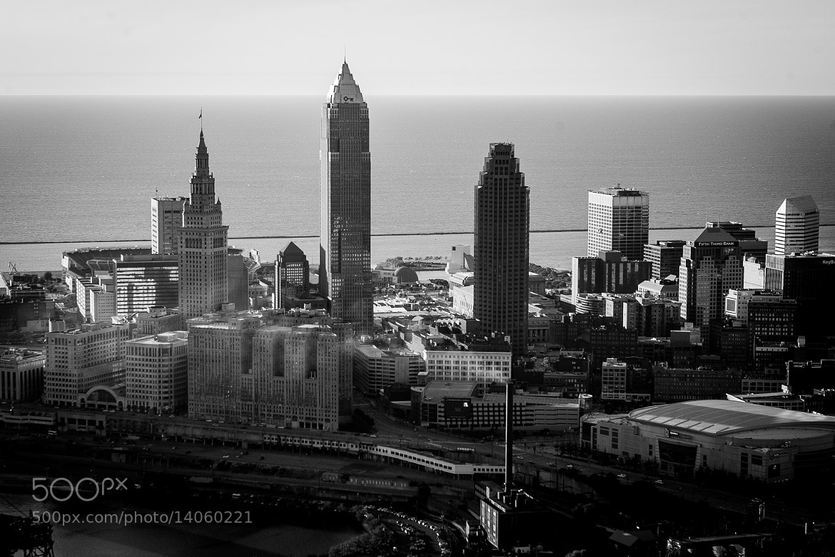 Photograph Cleveland Ariel by Scott T.  Morrison on 500px