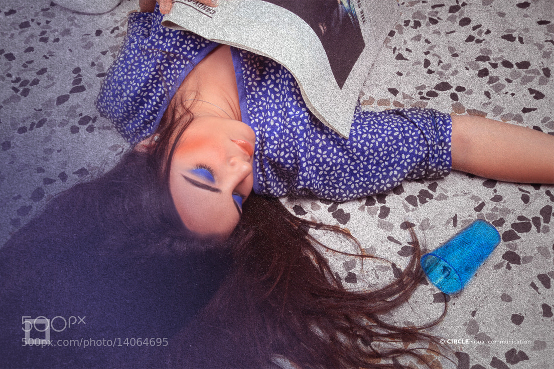 Photograph FALLING IN BLUE by Tanios Hokayem on 500px