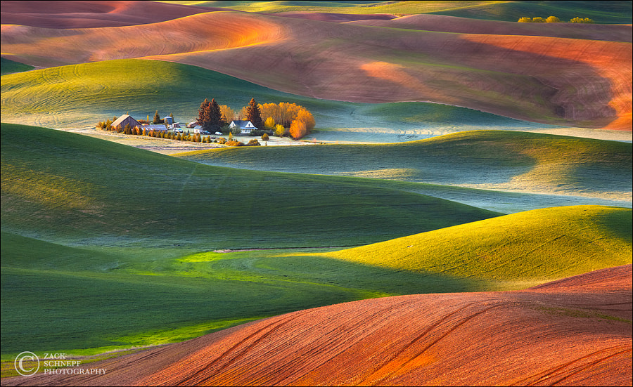 Palouse Home by Zack Schnepf on 500px.com