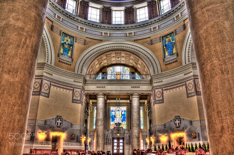 Photograph Borromaeus church Vienna by Paul Suess on 500px
