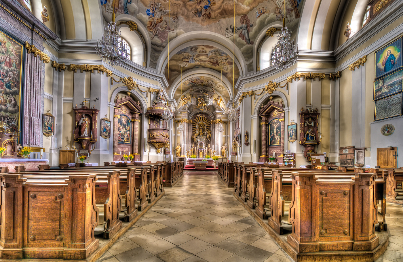 Photograph church in Hoheneich by Paul Werner Suess on 500px