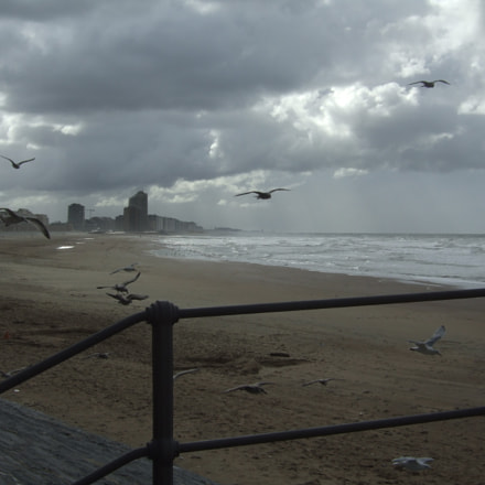 Belgian coast by bad, Fujifilm FinePix E900