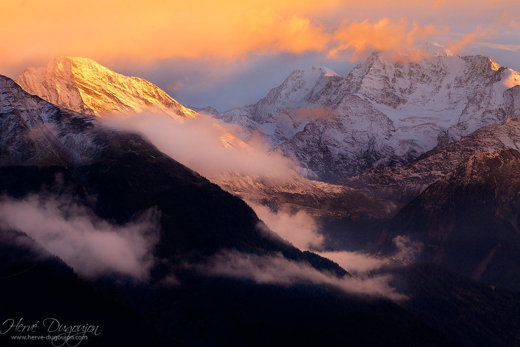Photograph Sunshine on the ALPS (Suisse) by Hervé Dugoujon on 500px