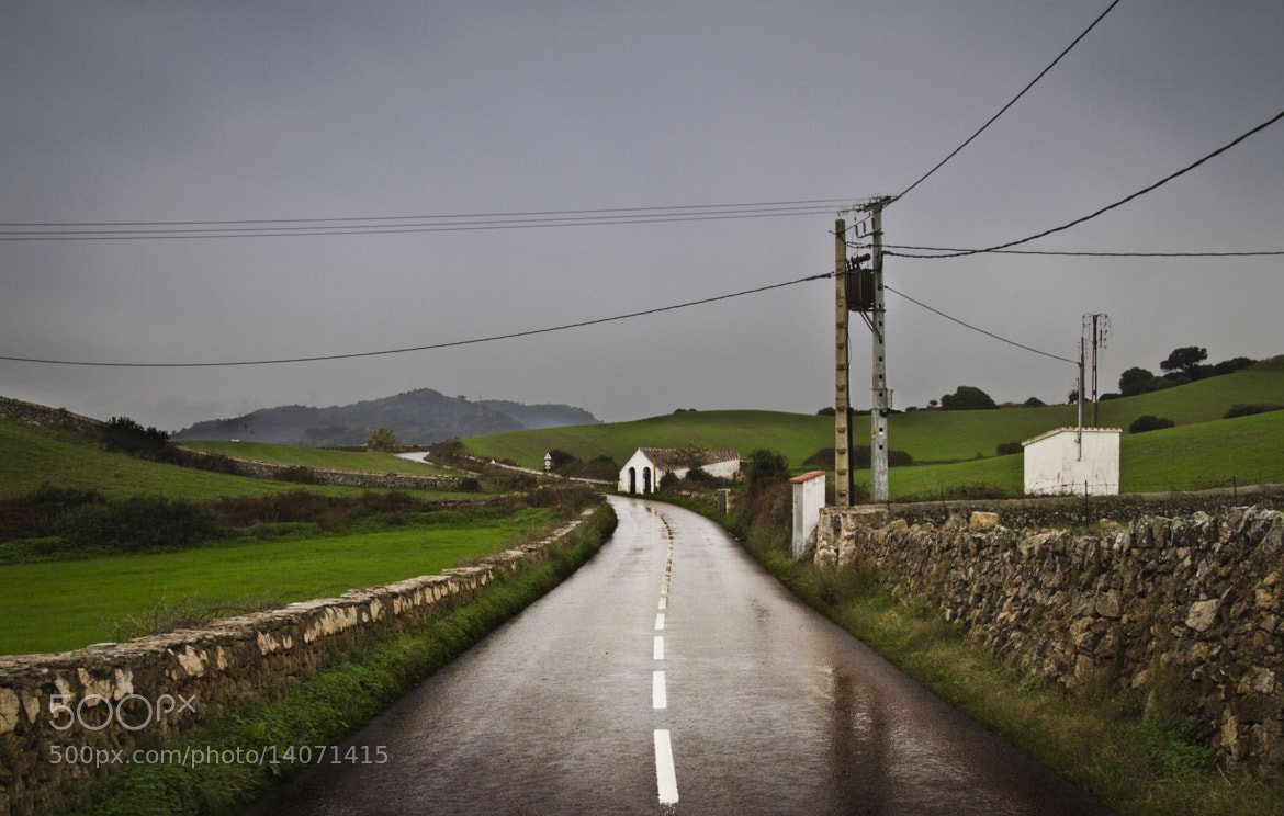 Photograph Carretera mojada. by Federico Rodriguez Olivera on 500px