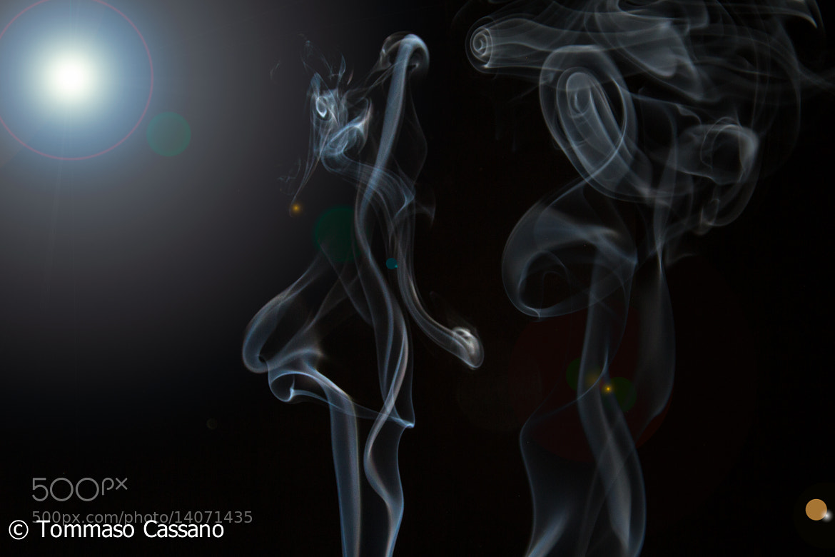 Photograph Dancing Smoke by Tommaso Cassano on 500px