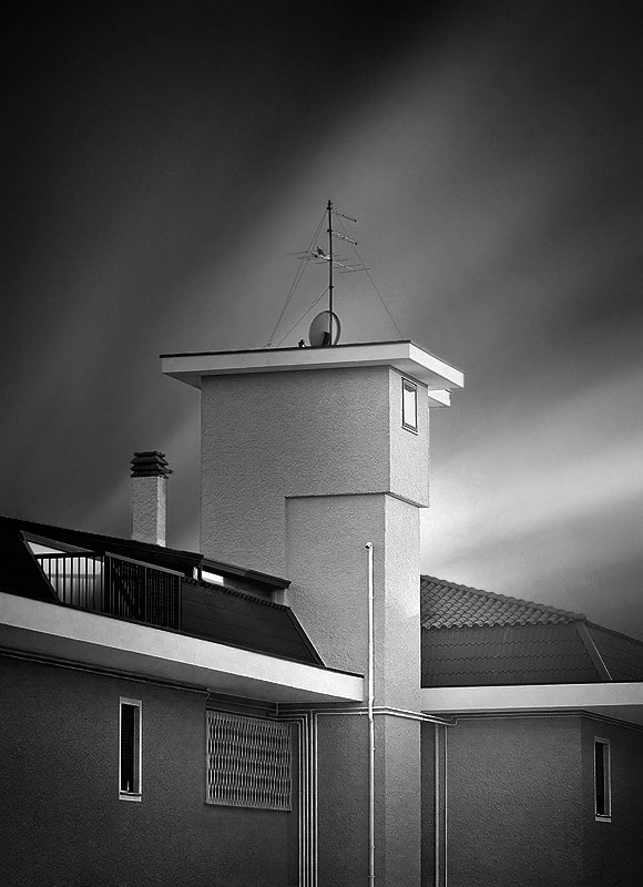 Photograph the house b&w by Max Ziegler on 500px