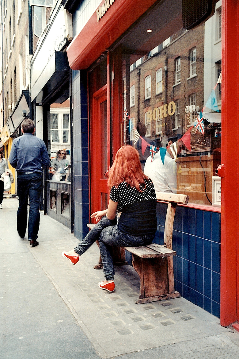 Photograph Soho Rouge by Anais Faraj on 500px