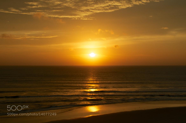 Photograph Sunrise on Daytona Beach by Wilfried Schreder on 500px