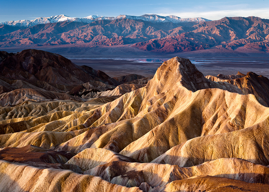 Photograph Zabriskie Point, Death Valley  by travelpix photography on 500px
