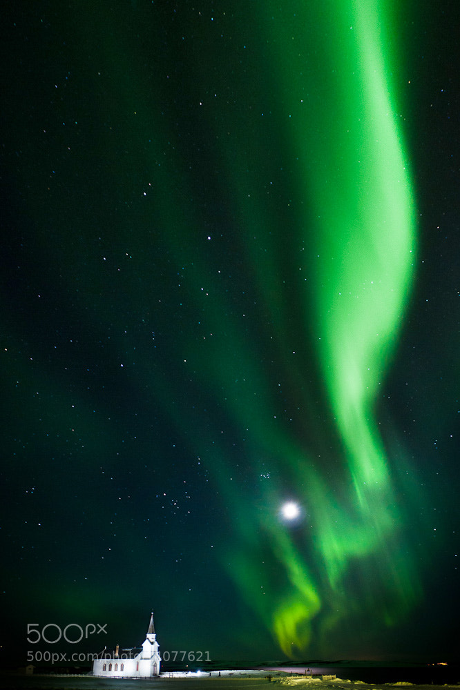 Photograph Aurora borealis by Mika Linho on 500px