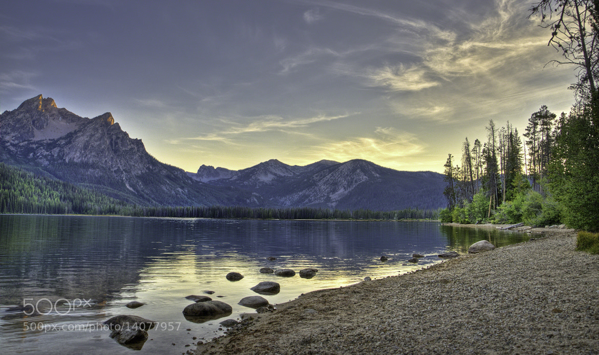 Photograph Stanley LakeSunset by Kristi  Paulson on 500px