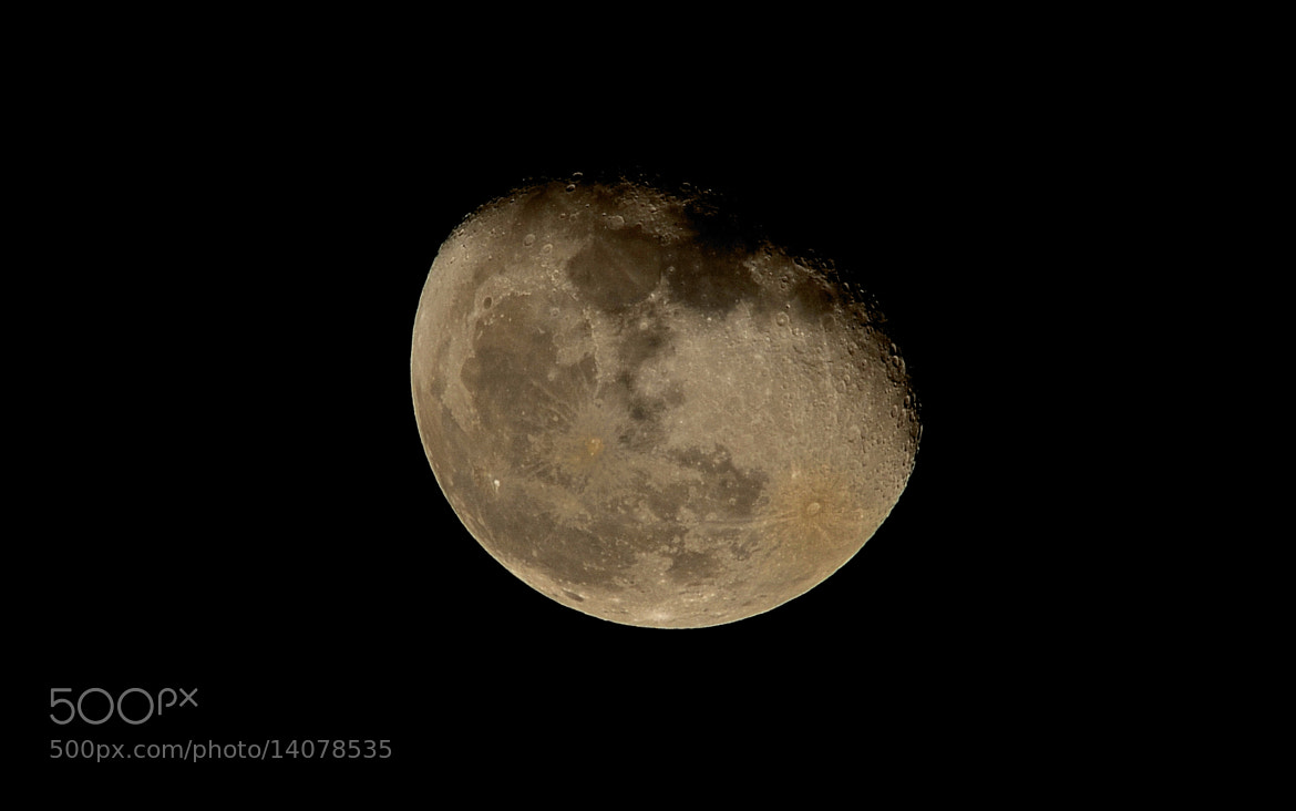 Photograph The Moon by John Barker on 500px
