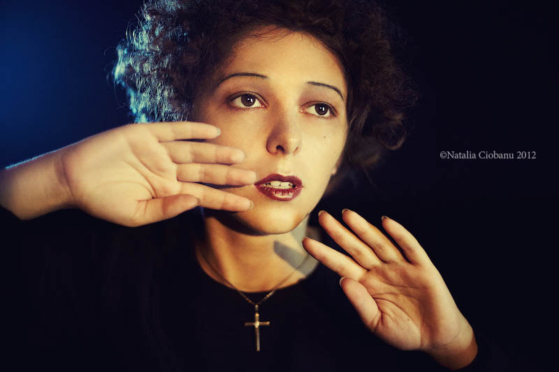 Photograph Piaf (From Famous Women Series) by Natalia Ciobanu on 500px