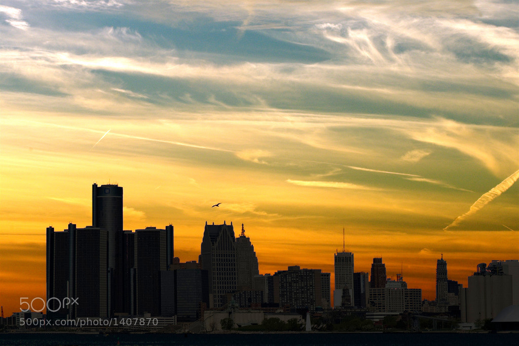 Photograph Sunsets over Detroit by Bobby Alcott on 500px