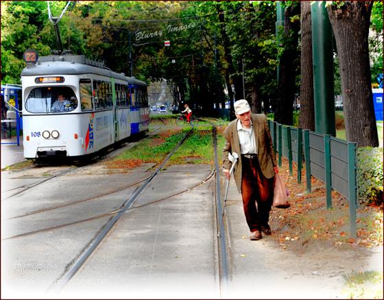 Photograph A Man on Track! by Raymond Paul on 500px