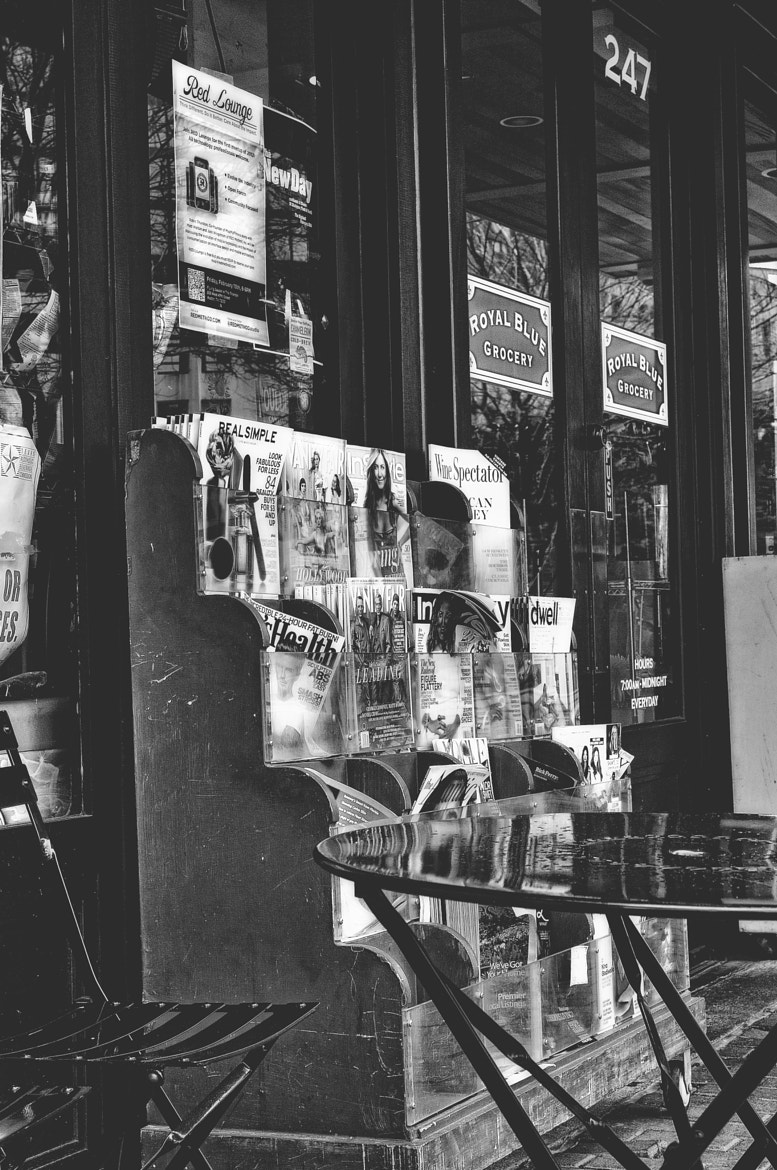 Photograph Newspaper Stand by Mark Stevens on 500px