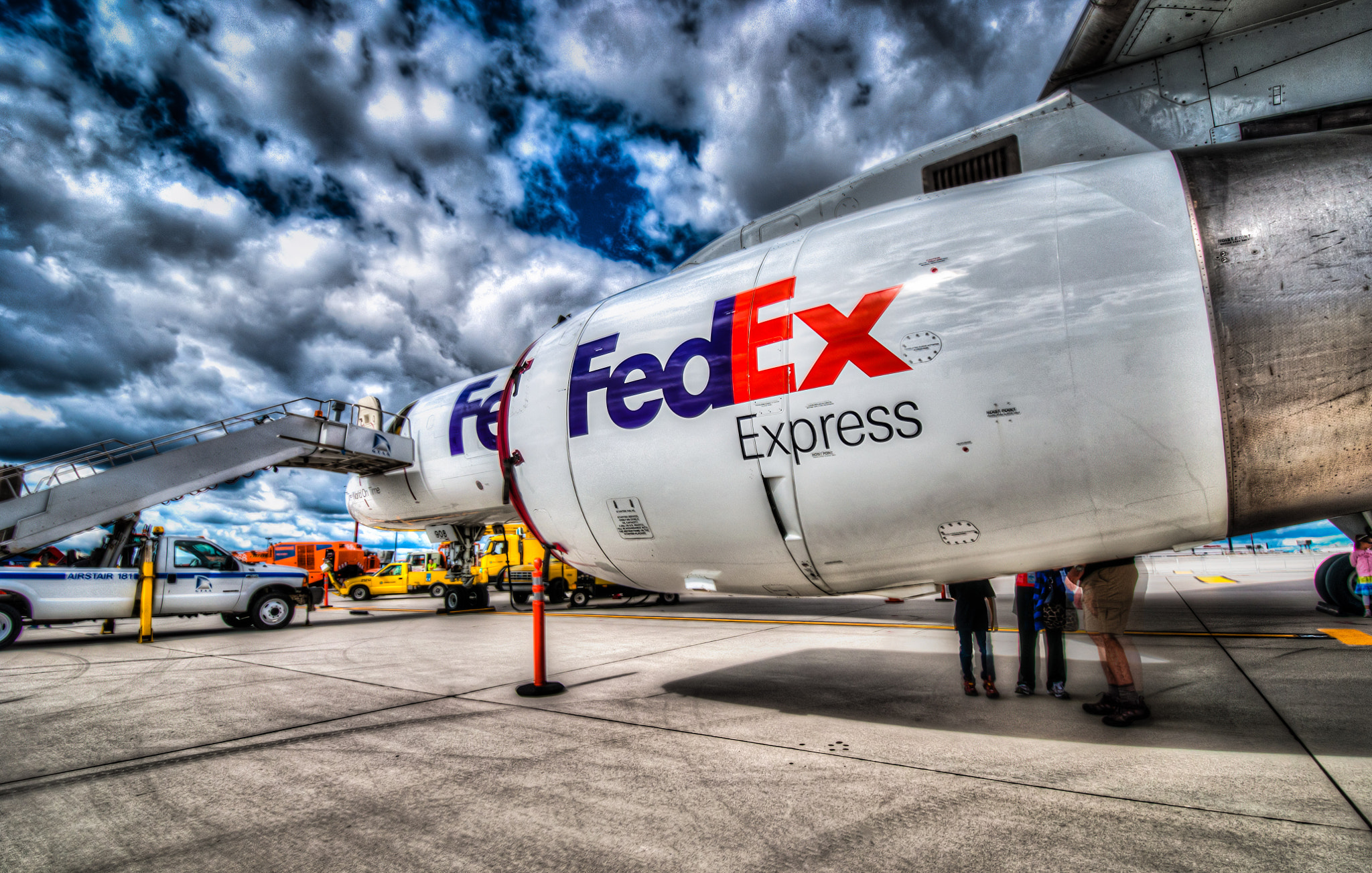 Photograph FedEx - Airside by Jeff Smith on 500px