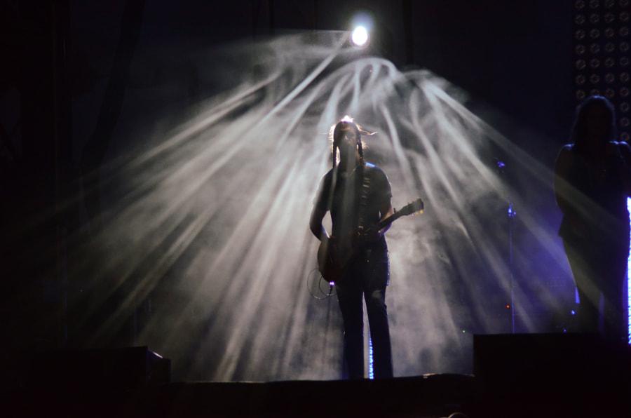 Guitar in the spotlight