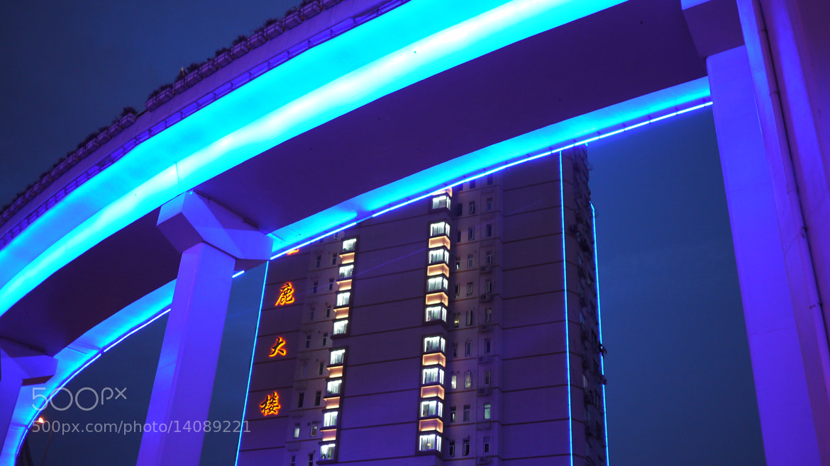 Photograph Blade runner blue by Luca Isola on 500px