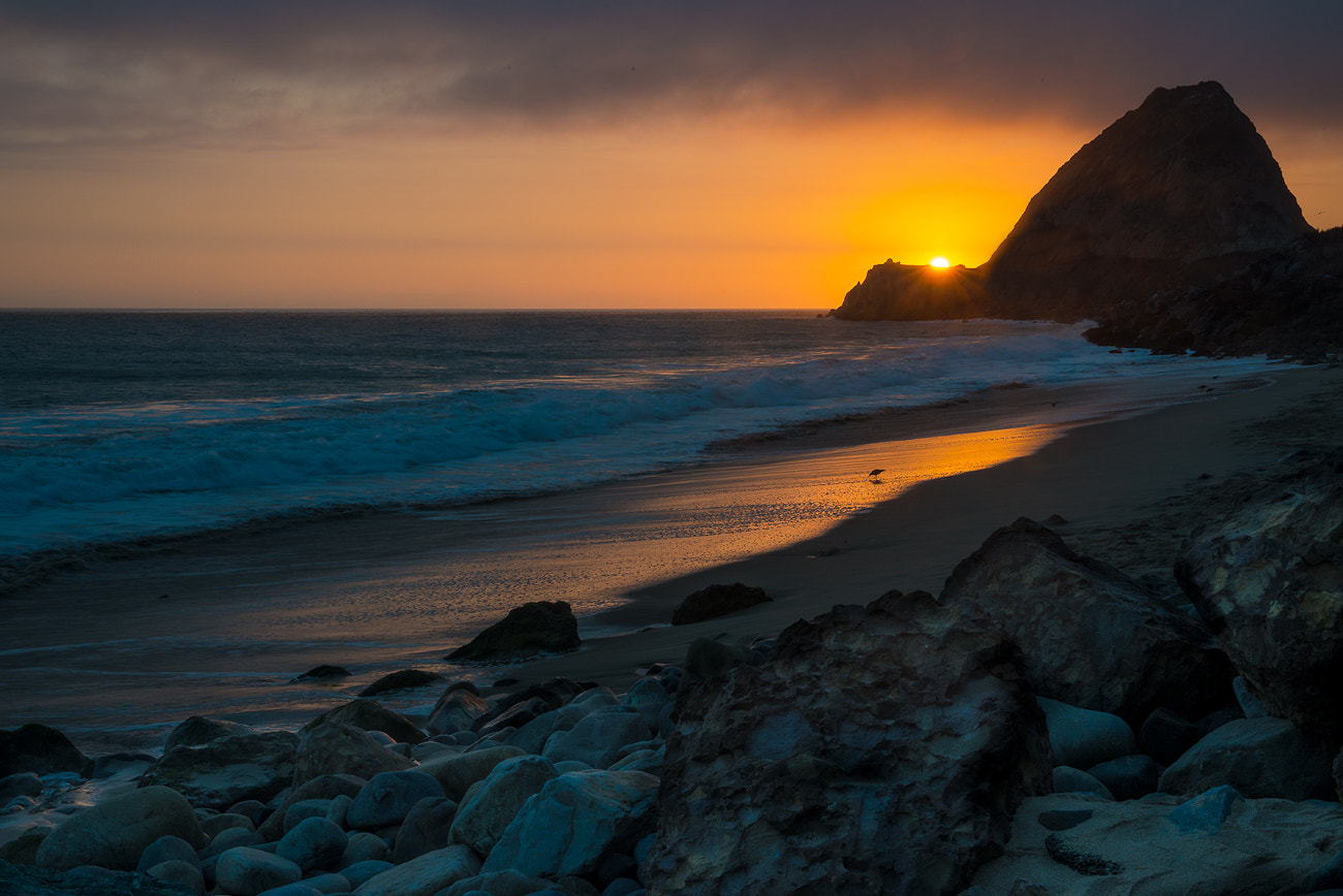 Photograph sunset in pt.mugu by Chris Riesta on 500px