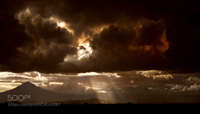 Photograph Sunset and Volcano by Cristobal Garciaferro Rubio on 500px