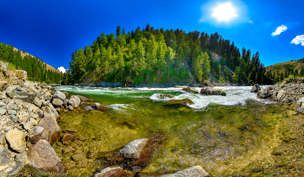 Photograph White Water on the Payette River  by Clinton Melander on 500px