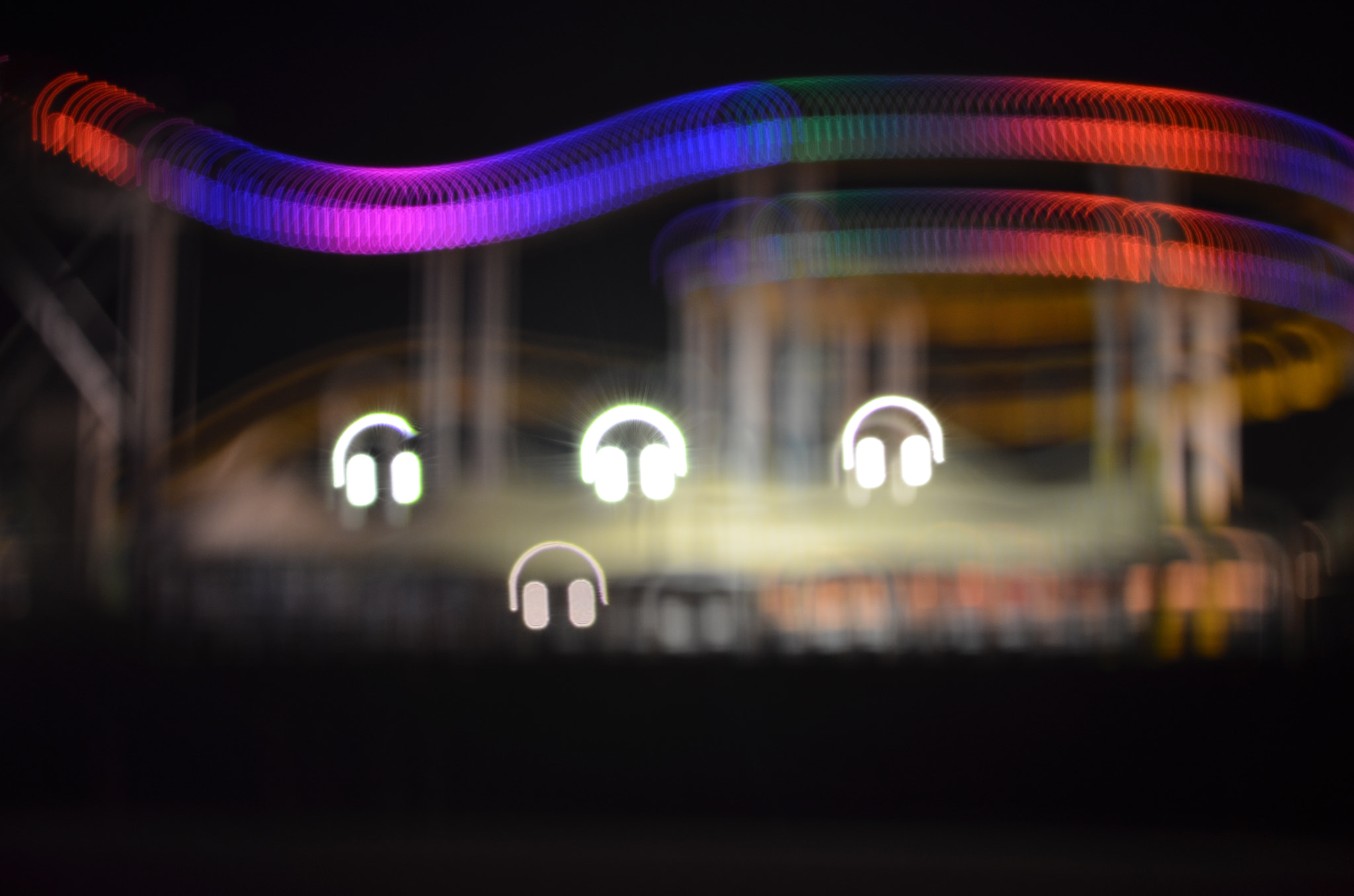 Photograph Rollercoaster Bokeh by Ashley Berger-Rivera on 500px