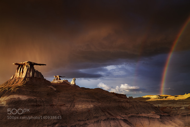 Bisti Badlands, New Mexico, USA by muha0445