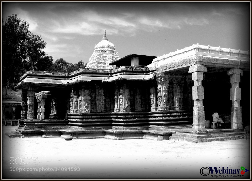 Photograph Ancient temples by Nagaraj Shenoy on 500px