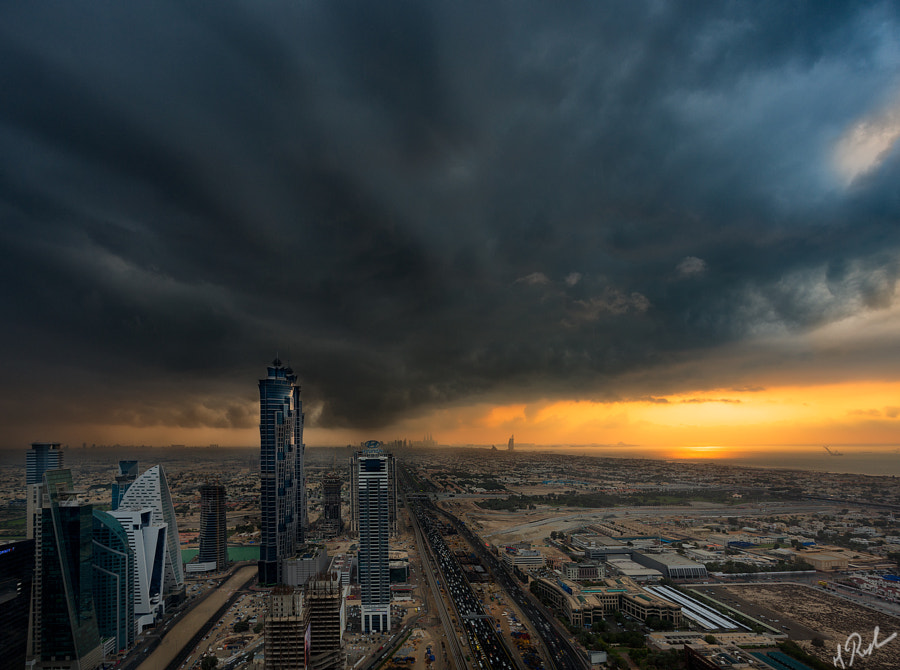 The Dramatic Sunset by Rustam Azmi on 500px.com