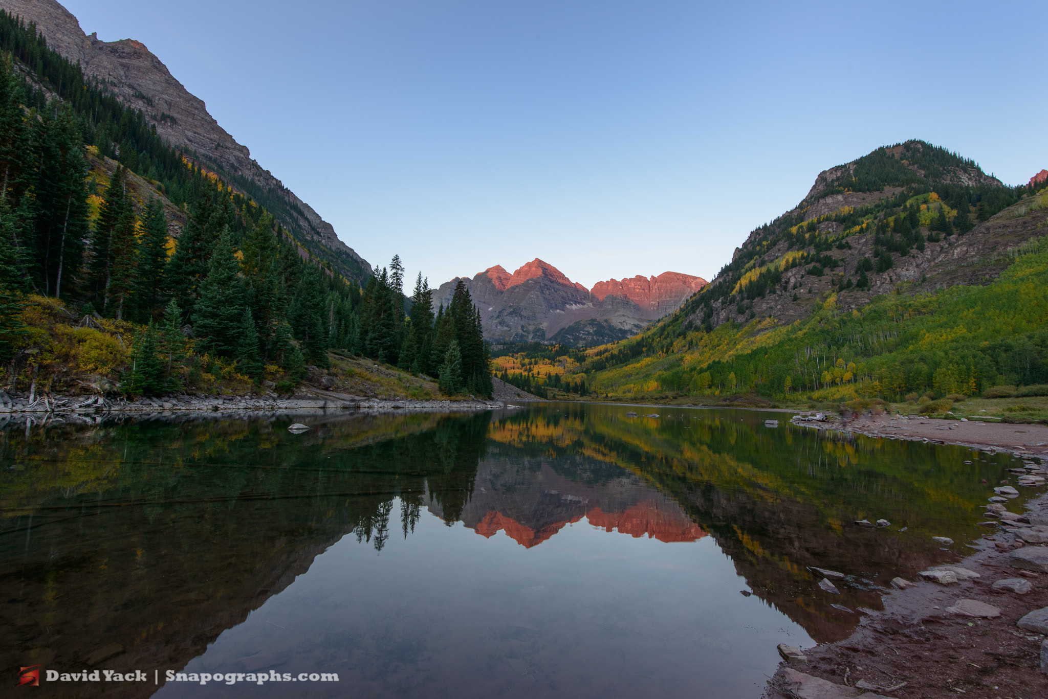 Photograph Maroon Bells Waking Up by David Yack on 500px