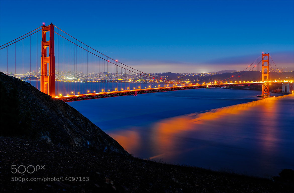 Photograph Golden Gate Blues by Jayson Gomes on 500px
