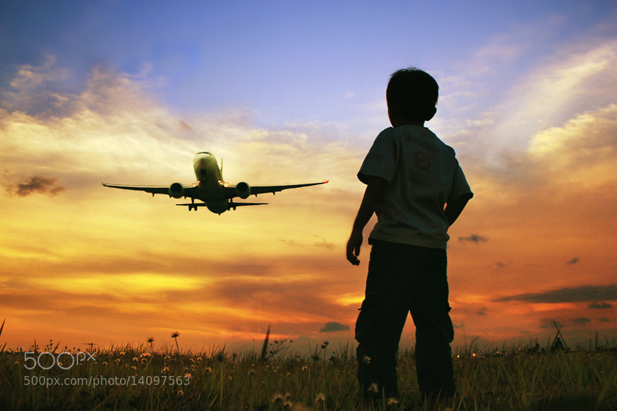 Photograph ....and fly my plane by 3 Joko on 500px