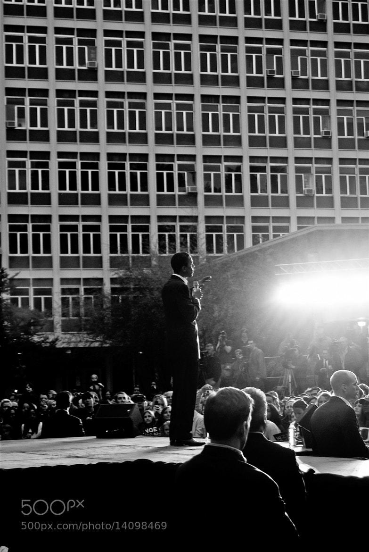 Photograph Barack Obama by Brendan Lilly on 500px