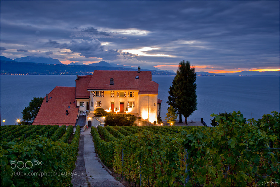 Photograph House in the Vineyards by Jan Geerk on 500px