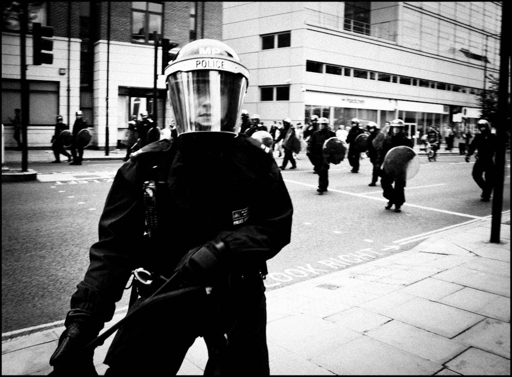Photograph Police Advance  by Sven Loach on 500px