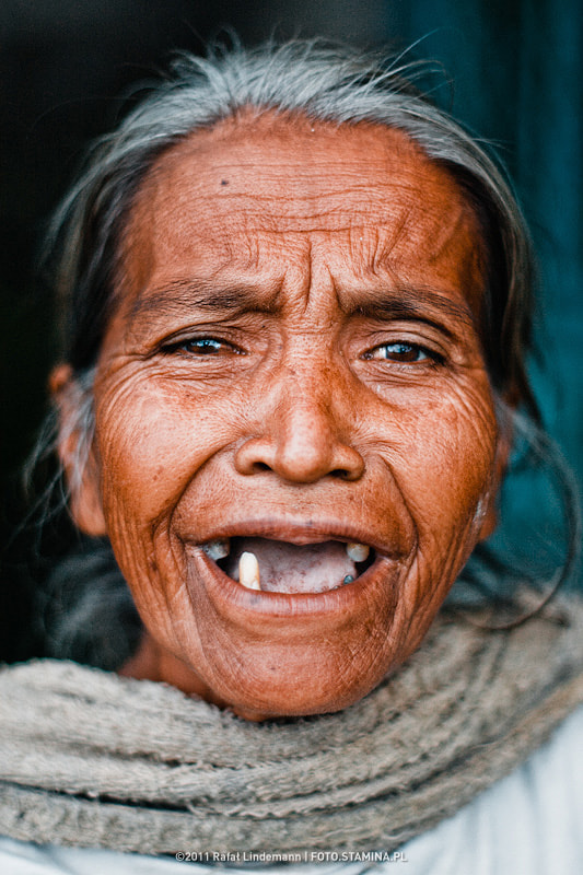 Photograph Toothless granny by Rafał Lindemann on 500px