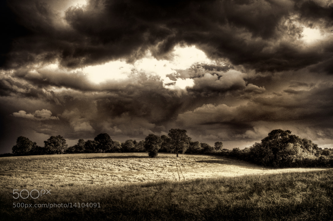 Photograph Storm Clouds on the Horizon by Alan Sheers on 500px