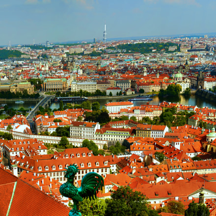Panaromic Prague, Panasonic DMC-L1, OLYMPUS DIGITAL 70mm-300mm Lens
