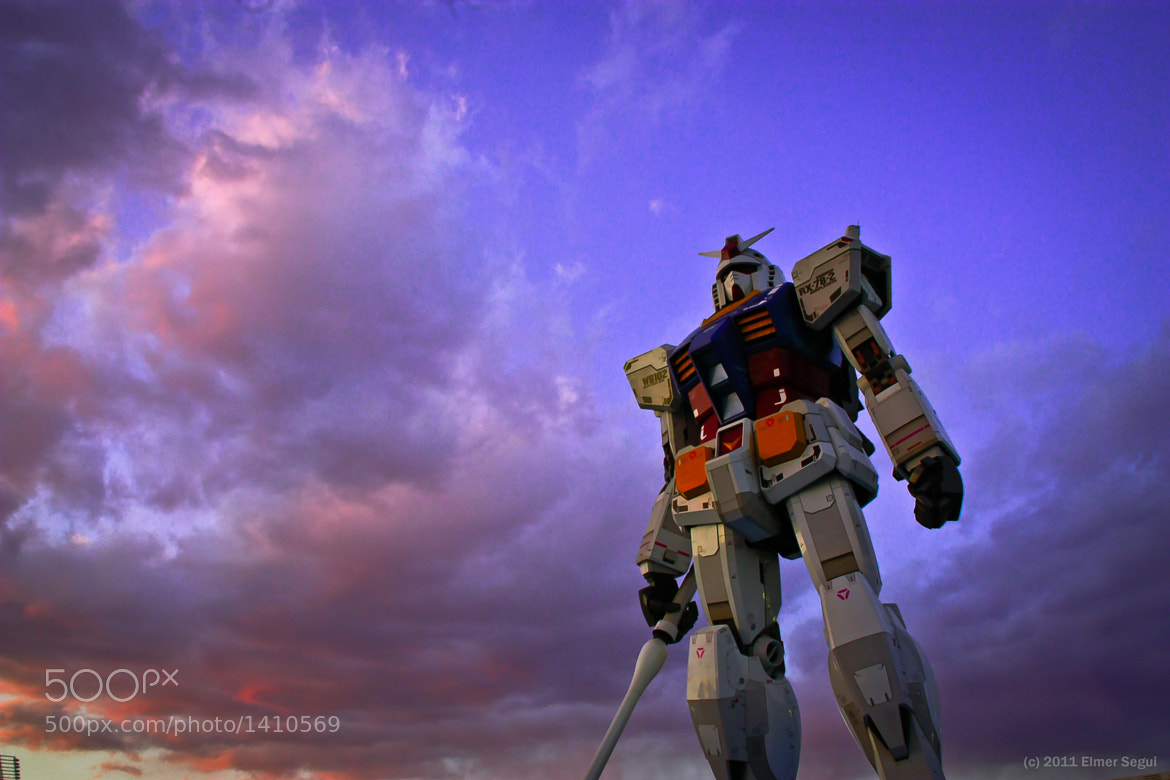 Photograph Gundam by Elmer Segui on 500px