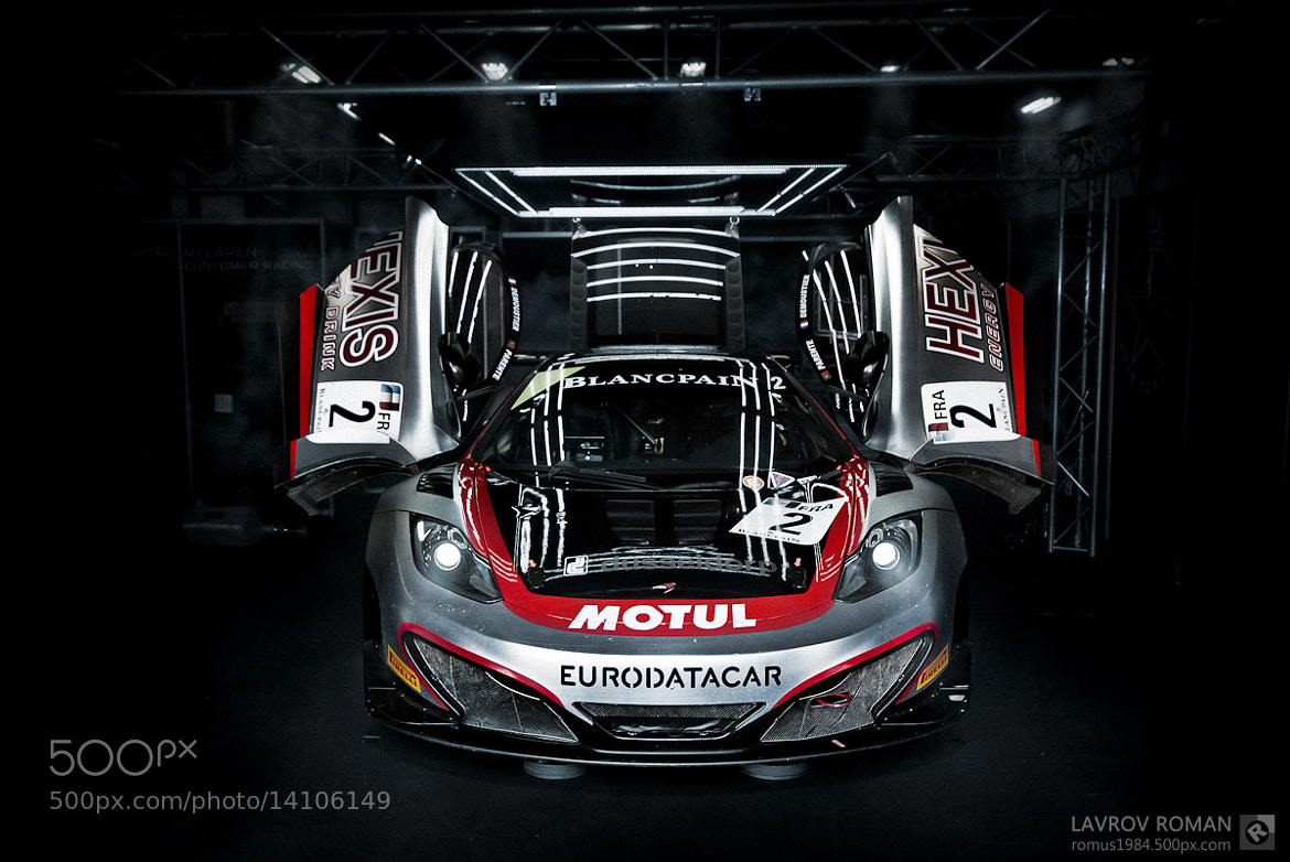 Photograph McLaren (Hexis Racing) by Roman Lavrov on 500px